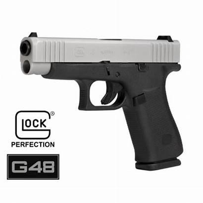 Glock 48 Label 9mm Program Gen Silver