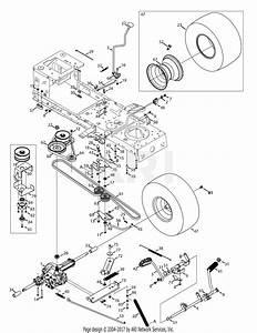 Troy Bilt 13wv78ks011 Bronco  2015  Parts Diagram For Transmission