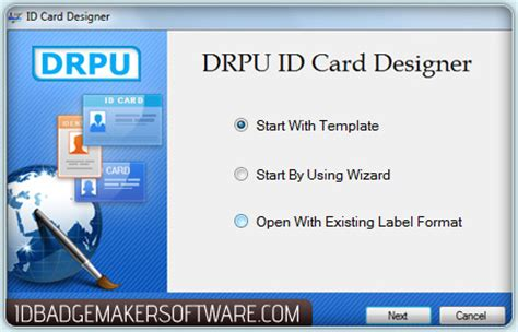 id card maker software design photo badges security