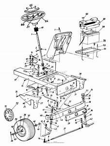 Mtd 144u836h190 46 U0026quot  Garden Tractor Hydrostatic Gt