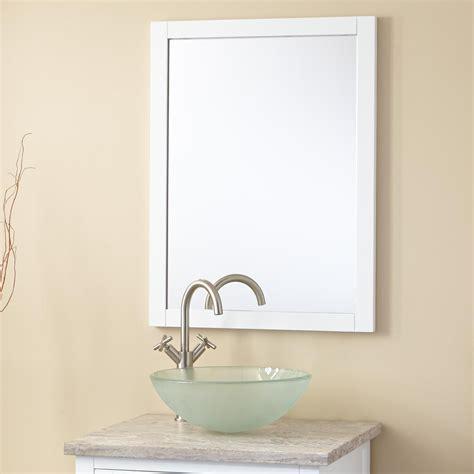 everett vanity mirror white bathroom mirrors bathroom