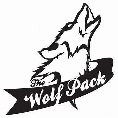 Clipart Wolfpack Wolf Artwork Pack Cub Vector