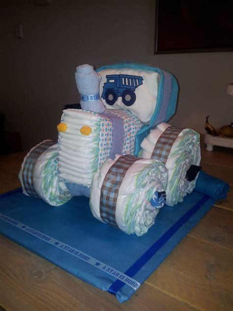 Luier Trekker Luiertaarten Pinterest Babies Cakes