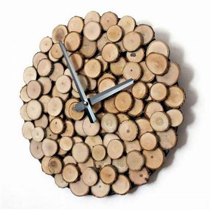 Clock Wood Wall Friendly Eco Diy Rustic