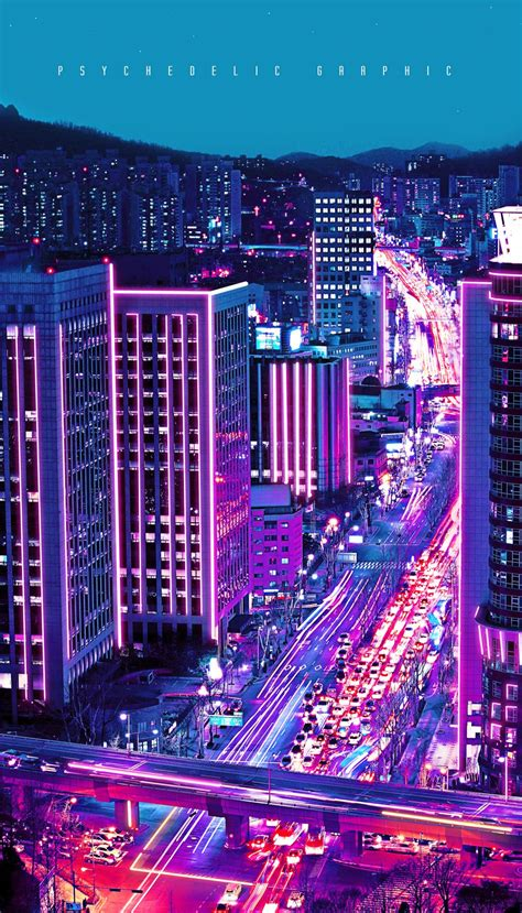 neon city vaporwave wallpaper city wallpaper