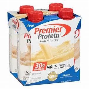 Premier Protein 30g Protein Shakes Vanilla Vanilla Walgreens