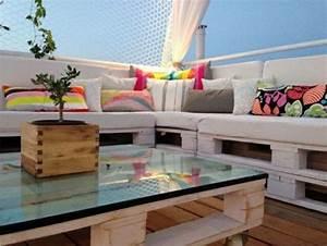 Terrassenmöbel Aus Paletten : lounge m bel aus europaletten garten pinterest ~ Michelbontemps.com Haus und Dekorationen