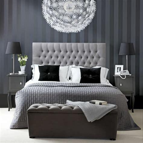 tapisserie de chambre a coucher 50 photos avec des idées pour poser du papier peint intissé