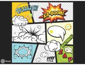 Comic Presentation Templates Prezi