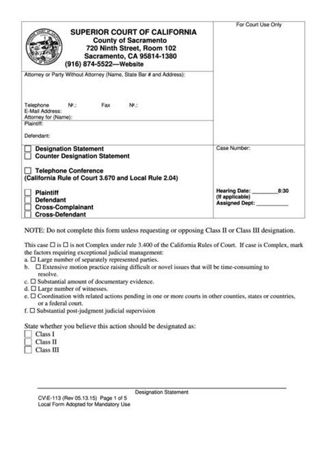 fillable california superior court forms printable pdf