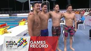Swimming Men's 4 x 100m freestyle relay | Games Record ...