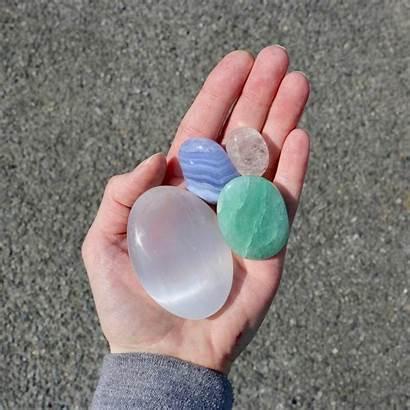 Crystals Bag Calming Calm Notonthehighstreet