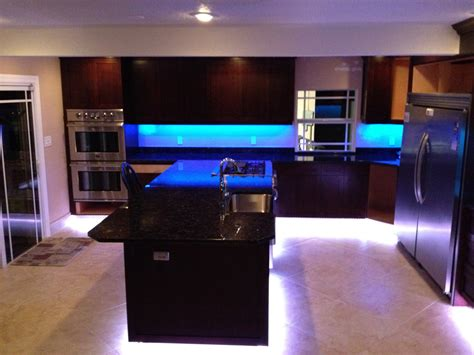 led kitchen lights cabinet kitchen led home design 8944