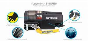 Superwinch Original S Series Trailer Winch