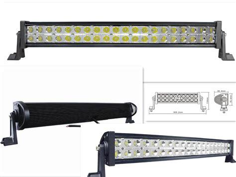 23 inch 120w led work light bar suv atv road 10 30v