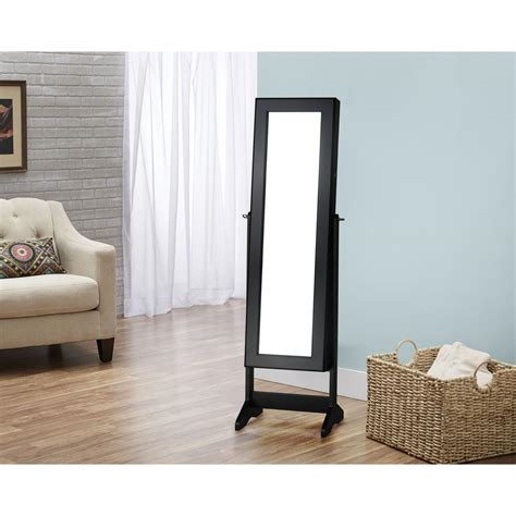 Black Standing Jewelry Armoire by Innerspace Luxury Products Black Cheval Free Standing