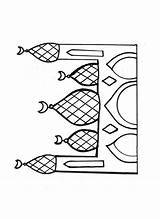 Mosque Coloring Drawing Pages Template Index Raskraski Getdrawings Sketch Drawings Paintingvalley sketch template
