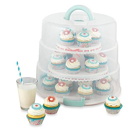 sweet creations collapsible cupcake cake pop carrier