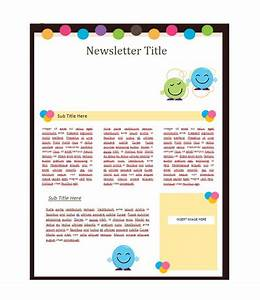 50 free newsletter templates for work school and classroom With newsleter templates