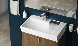 Waschbecken Mit Ablage : keramik waschbecken mit ablage groupon goods ~ Lizthompson.info Haus und Dekorationen