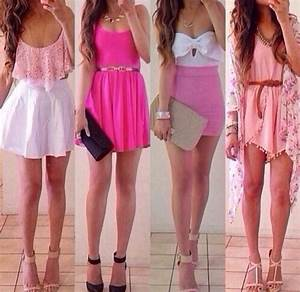 Cute Pink Spring And Summer Dresses Pictures Photos and Images for Facebook Tumblr Pinterest ...