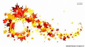 Fall Leaves Background Clipart | Wallpapers Background