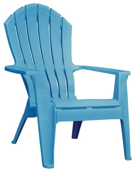 adirondack stacking chair pool blue contemporary