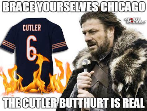 chicago bears fans burn  bury jay cutler jerseys video