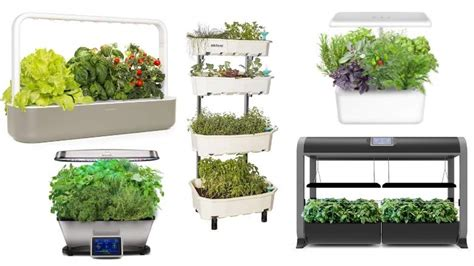 13 Best Automatic Indoor Gardens For Busy Gardeners (2019