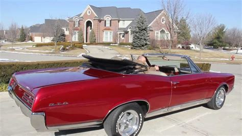 1967 pontiac gto convertible classic muscle car for sale in mi vanguard motor sales youtube