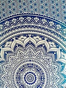 Couvre Lit Indien : couvre lit indien hippie gypsy style boh me d coration de chambre 100 coton imprim la main ~ Teatrodelosmanantiales.com Idées de Décoration