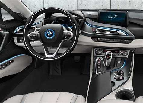 2015 Bmw I8 Dashboard View
