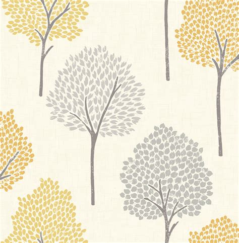 Kitchen Paint Colours Ideas - colours eula grey yellow forest wallpaper departments diy at b q