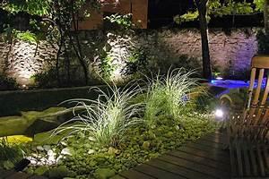 Eclairage Exterieur Jardin : eclairage de jardin serrault jardins paysagiste ~ Melissatoandfro.com Idées de Décoration