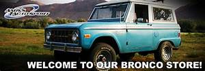 Ford Bronco Parts  Bronco Classic Muscle Car Parts