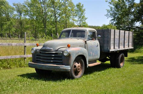chevy farm truck loadmaster classic chevrolet