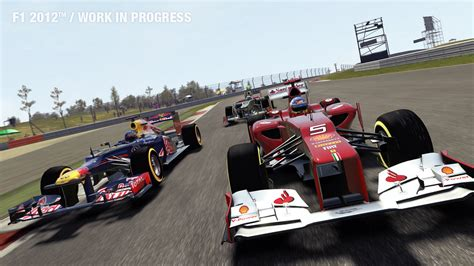 Codemasters F1 2012 and F1 Online: The Game screenshots
