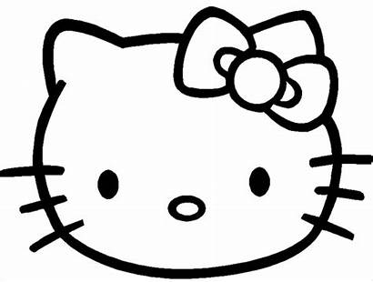 Hello Kitty Coloring Face Pages Pdf Ai