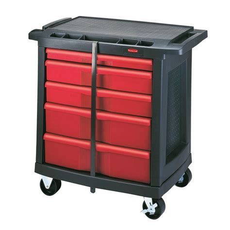 Rubbermaid Commercial Products 32.6 in. 5 Drawer Mobile