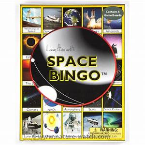 Space Bingo Game - Educational Bingo Game