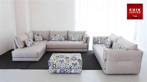 canape 2places canapé d angle 5 places en tissu bravo