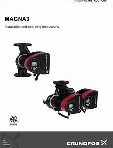 537341 3 Grundfos Magna3 Installation And Instructions