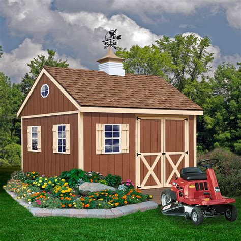 storage shed kits sears best barns mansfield 12x12 shed kit lawn garden