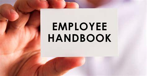 ways  employee handbook benefits  business