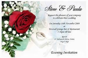 Contoh wedding invitation card wedding invitations for Kid free wedding invitations
