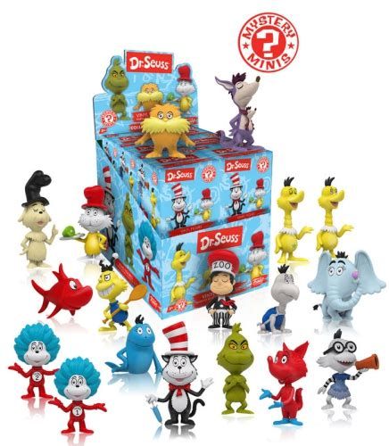 funko dr seuss mystery minis wave checklist info odds list guide