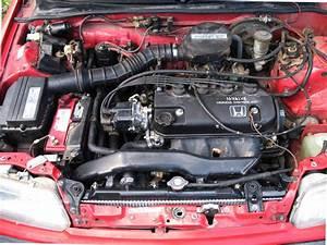 Front Engine Mount Broken Honda Civic