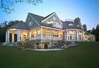 shingle style homes Big Cedar Lake Shingle Style - Victorian - Exterior - Milwaukee - by Wade Weissmann Architecture