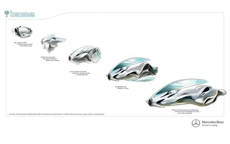 mercedes benz biome interior mercedes benz biome concept car body design