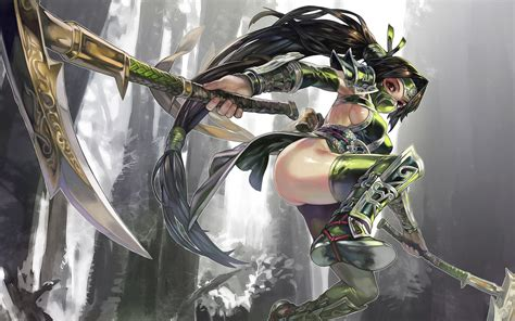 akali league  legends wallpapers art  lol